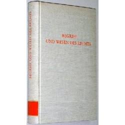 Begriff und Wesen des Rechts. Von Werner Maihofer (1973).