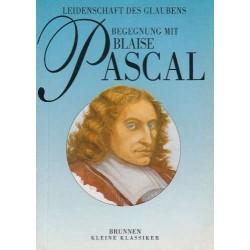 Begegnung mit Blaise Pascal. Von Robert van de Weyer (1991).