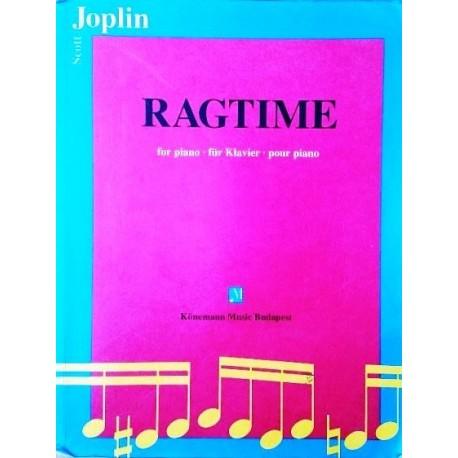 Ragtime für Klavier. Scott Joplin. Von Laszlo Goz (1994).