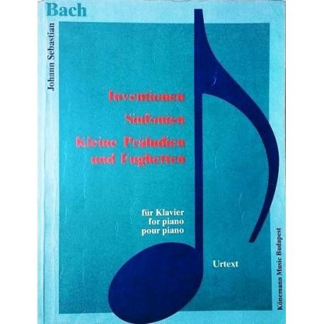 Inventionen, Sinfonien, Kleine Präludien und Fughetten. Johann Sebastian Bach. Von Tamas Zaszkaliczky (1994).