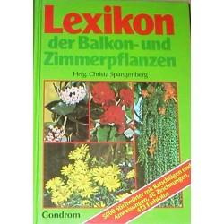 Lexikon der Balkon- und Zimmerpflanzen. Von Christa Spangenberg (1986).