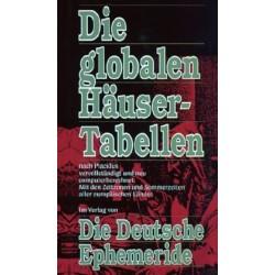 Die globalen Häusertabellen. Von Friedrich Jacob (1992).